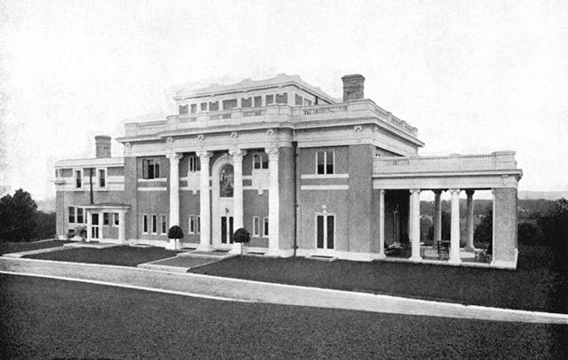 Winchester Sanborn House c1910